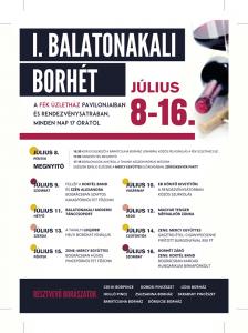 I. Balatonakali borhét @ FÉK Üzletház | Balatonakali | Veszprém | Magyarország