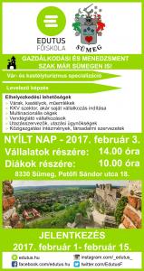 Edutus Főiskola Nyílt nap! @ Sümeg | Magyarország