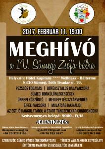IV. Sümegi Zsófia bál @ Hotel Kapitány **** Wellness Bálterme | Sümeg | Magyarország