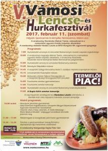V. Vámosi Lencse- és Hurkafesztivál @ Sportcsarnok és környéke | Nemesvámos | Magyarország