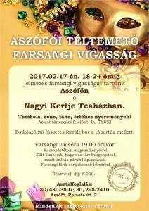Aszófői Téltemető Farsangi Vigasság @ Nagyi Kertje Teaház  | Aszófő | Magyarország