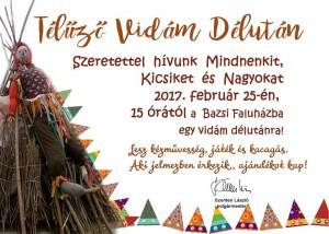 Télűző Vidám Délután @ Bazsi Faluház | Bazsi | Magyarország