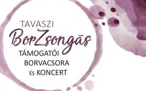 Tavaszi BorZsongás – támogatói borvacsora és koncert @ Nivegy Ház | Balatoncsicsó | Magyarország