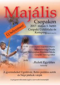 Majális Csopakon @ Csopaki Üdülőfalu és Kemping | Csopak | Magyarország