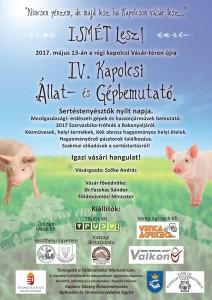 IV. Kapolcsi Állat- és Gápbemutató @ Kapolcsi Vásár-tér | Kapolcs | Magyarország