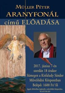 Müller Péter Aranyfonál című előadása @ Kisfaludy Sándor Művelődési Központ | Sümeg | Magyarország