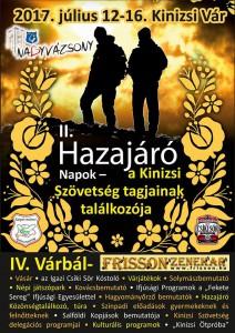 II. Hazajáró Napok @ Kinizsi Vár, Nagyvázsony | Nagyvázsony | Magyarország