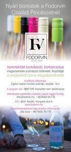 Nyári borestek a Fodorvin Családi Pincészetnél @ Fodorvi Családi Pincészet | Aszófő | Magyarország