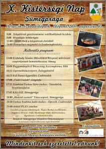 X. Kistérségi nap @ Szabadidőpark | Sümegprága | Magyarország