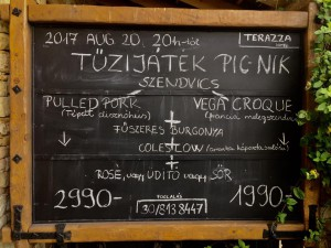 Tűzijáték PIKNIK @ Terazza Bistro - Bar | Sümeg | Magyarország