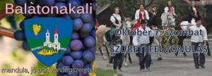 Szüreti Felvonulás @ Baráthcsuha Borház | Balatonakali | Magyarország