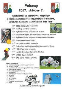 Falunap @ Művelődési Ház | Nyirád | Magyarország