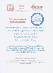 Csipkeverő Bemutató @ Pécsely Könyvtár | Pécsely | Magyarország