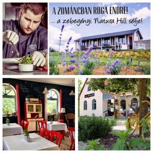 Ruga Endre a zebegényi Natura Hill séfje a Zománcban! @ Zománc Bisztrócska  | Vászoly | Magyarország