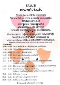 Falusi disznóvágás @ Nyirád Művelődési ház | Nyirád | Magyarország