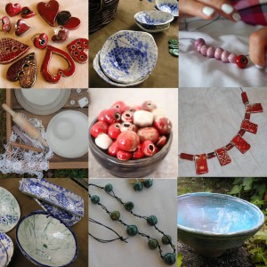 Od kerámia workshop - szívek, ékszer, tálka ÚJRA @ Mencshely | Mencshely | Magyarország