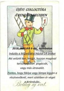 Újévi gyalogtúra a Rendeki-hegyben @ Csabrendek  Művelődési Háztól | Csabrendek | Magyarország