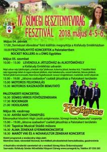 IV. Sümegi Gesztenyevirág Fesztivál @ Sümeg | Magyarország