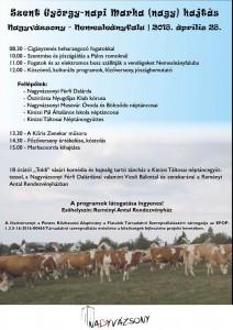 Szent György-napi Marha (nagy) hajtás @ Reményi Antal Rendezvényház | Nagyvázsony | Magyarország