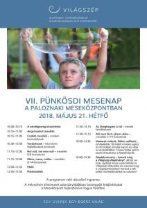 VII. Pünkösdi Mesenap a Paloznaki Meseközpontban @ Paloznaki Meseközpont | Paloznak | Magyarország