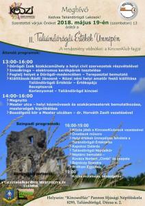 II. Taliándörögdi Értékek Ünnepe @ KincsesHáz, Dózsa u. 2. | Taliándörögd | Magyarország