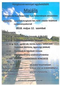 Majális @ Nyirádi horgásztónál felállított rendezvénysátor | Nyirád | Magyarország