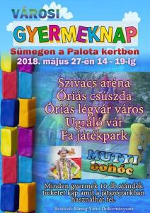Városi Gyermeknap Sümegen @ Palotakert | Sümeg | Magyarország