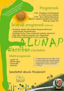 Falunap Bazsiban @ Sportpálya | Bazsi | Magyarország