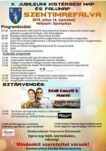 X. Jubileumi Kistérségi nap és Falunap Szentimrefalva @ Sportpálya | Szentimrefalva | Magyarország