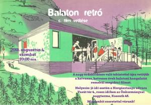 Balaton Retró Filmvetítés @ Balatonakali | Magyarország
