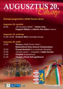 Augusztus 20. Tihany @ Tihany | Magyarország