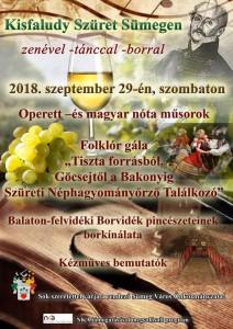 Kisfaludy szüret Sümegen @ Sümeg | Magyarország