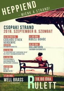HeppiEnd a Csopaki strandon @ Strand   Csopak   Magyarország