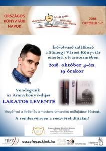 Író-olvasó találkozó Lakatos Leventével @ Sümegi Városi Könyvtár | Sümeg | Magyarország