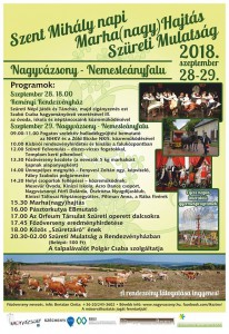Szent Mihály Napi Marha(nagy) Hajtás és Szüreti Mulatság @ Nagyvázsony   Magyarország