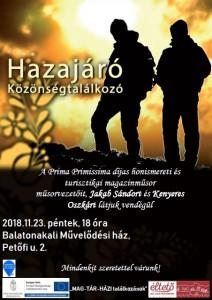 Hazajáró közönségtalálkozó @ Balatonakali Művelődési ház  | Balatonakali | Magyarország