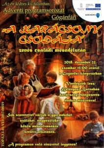 Zenés családi mesedélután @ Gógánfai könyvtár  | Gógánfa | Magyarország