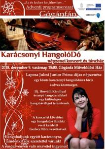 Karácsonyi Hangolódó @ Művelődési Ház | Gógánfa | Magyarország