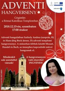 Adventi hangverseny @ Római Katolikus Templom | Gógánfa | Magyarország