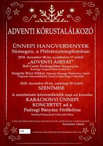 Adventi kórustalálkozó @ Plébániatemplom | Sümeg | Magyarország
