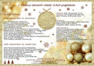 I. Tihanyi Adventi Vásár a Kotyogósban @ Kotyogós Kávéterasz