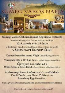 Város napi ünnepség @ Kisfaludy Sándor Művelődési Központ
