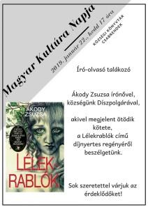 Író-olvasó találkozó @ Községi Könyvtár