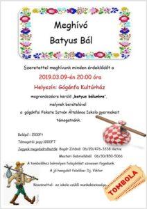 Batyus Bál @ Gógánfa Kultúrház