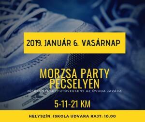 4. Morzsa Party - Jótékonysági futóverseny @ Pécselyi Általános Iskola udvara