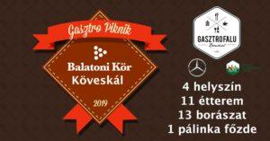 BalatoniKÖR Gasztro Piknik - Köveskál