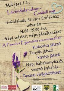 Levendula udvar - Családi nap @ Kisfaludy Sándor Emlékház