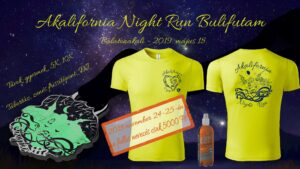 """Akalifornia Nightrun """"Fuss az éjszakában!"""" a Balaton partján @ Balatonakali strand"""