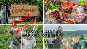 Új időpont- Tagyon Birtok GRAND Opening 2019 @ Tagyon Birtok