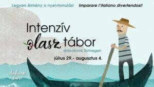 Intenzív olasz tábor diákoknak Sümegen @ Kovakő Kemping